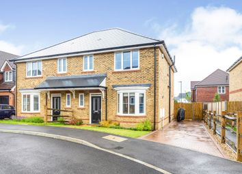 Thumbnail 3 bed semi-detached house for sale in Foresters Way, Pease Pottage, Crawley