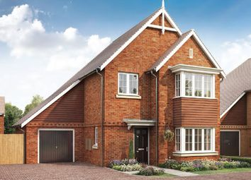 Thumbnail 4 bed detached house for sale in St Georges Road, Badshot Lea, Farnham