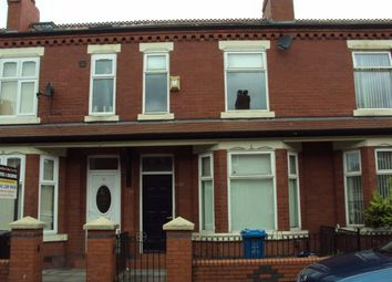 Thumbnail 3 bed terraced house to rent in Deramore Road, Rusholme, Manchester