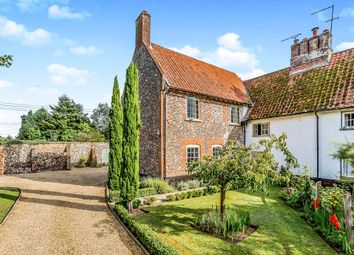 Thumbnail 4 bed cottage for sale in West Park Farm Close, Ickburgh, Thetford