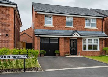 Thumbnail 4 bed detached house for sale in Cotton Meadows, Bolton