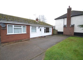 Thumbnail 3 bed bungalow for sale in Watton Road, Shropham, Attleborough