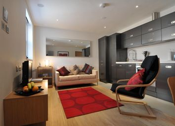 Thumbnail 2 bed flat to rent in Hall Place, St. Peters Street, St.Albans