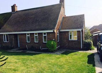 Thumbnail 2 bedroom semi-detached bungalow to rent in Parkside, Sedgeford, Hunstanton