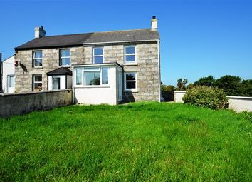 Thumbnail 3 bed end terrace house for sale in Rame Cross, Penryn