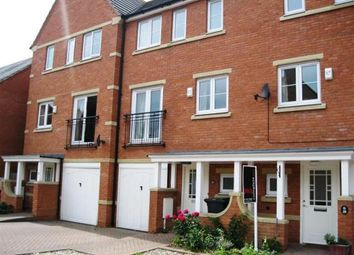 Thumbnail 4 bed town house to rent in Blyth Close, Rugby, Warwickshire