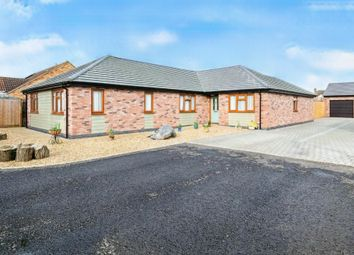 Thumbnail 4 bed detached bungalow for sale in Bassenhally Road, Whittlesey, Peterborough