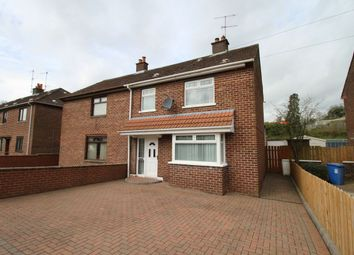 Thumbnail 3 bed semi-detached house for sale in Lawnmount Crescent, Lisburn