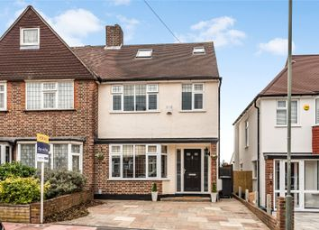 Thumbnail 4 bed semi-detached house for sale in Greenview Avenue, Beckenham