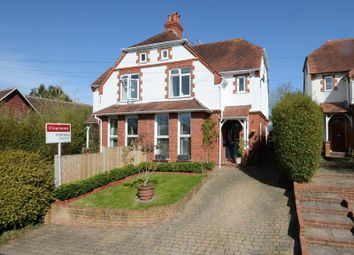 Thumbnail 3 bed semi-detached house for sale in Yew Tree Cottage, Cranmore Lane, West Horsley