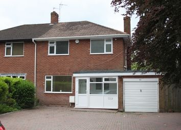 Thumbnail 3 bed semi-detached house to rent in Oaks Crescent, Wolverhampton