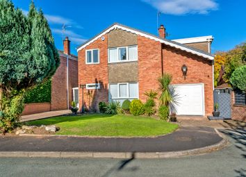 Thumbnail 5 bed detached house for sale in Merlin Close, Cannock