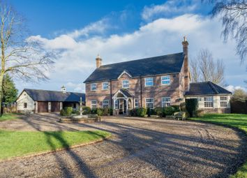 Thumbnail 6 bed detached house for sale in Hargham Road, Attleborough