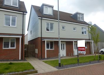 Thumbnail 3 bedroom semi-detached house for sale in Jubilee Drive, Cannock