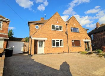 Thumbnail 3 bed semi-detached house to rent in Queensgate Drive, Birstall, Leicester