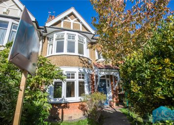 Thumbnail 3 bed semi-detached house for sale in Bidwell Gardens, London