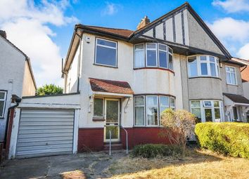Thumbnail 3 bed semi-detached house for sale in Broad Walk, London