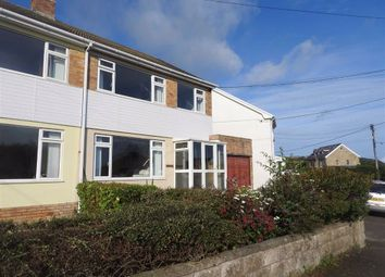 Thumbnail 3 bed semi-detached house for sale in Heol Y Graig, Aberporth, Ceredigion