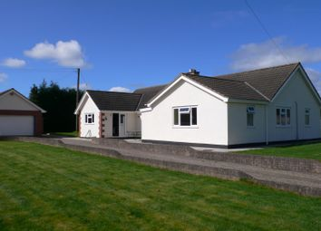 Thumbnail 3 bed detached bungalow for sale in Lyston Lane, Orcop Hill, Herefordshire