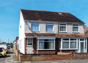 Thumbnail 3 bed semi-detached house for sale in Fairholme Road, Ashford, Surrey