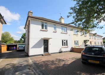 Thumbnail 3 bed semi-detached house for sale in Southern Cottages, Horton Road, Staines-Upon-Thames, Surrey