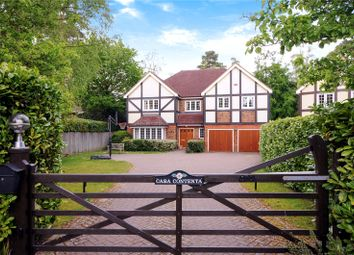 Thumbnail 5 bed detached house for sale in Monks Drive, Ascot, Berkshire