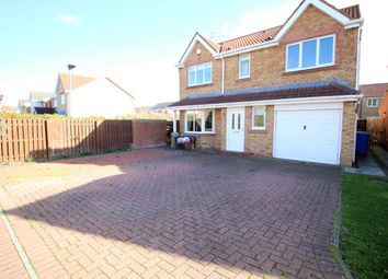 Thumbnail 4 bed detached house to rent in Dewberry Close, Blyth