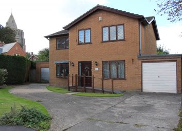 Thumbnail 4 bedroom detached house for sale in St. Guthlacs Close, Crowland, Peterborough