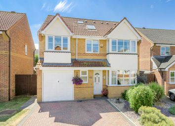 Thumbnail 4 bed detached house for sale in Blanchland Circle, Monkston, Milton Keynes