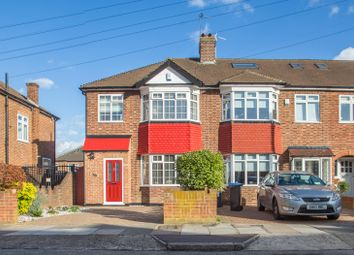 Thumbnail 3 bed end terrace house for sale in Countisbury Avenue, Enfield
