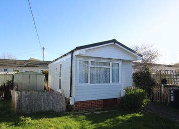 Thumbnail 1 bedroom mobile/park home for sale in Dome Caravan Park, The Spur, Lower Road, Hockley
