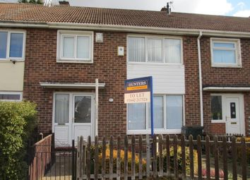 Thumbnail 3 bed terraced house to rent in Pennard Green, Pallister Park, Middlesbrough