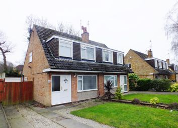 Thumbnail 3 bedroom semi-detached house for sale in Plantation Gardens, Shadwell, Leeds