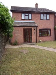 Thumbnail 3 bed detached house to rent in Huntingfield Close, Norwich