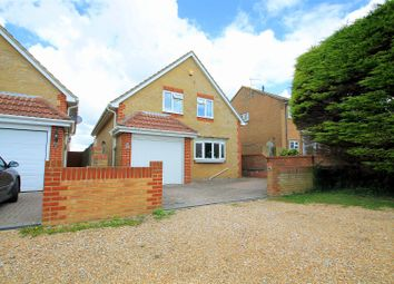 Thumbnail 3 bed detached house for sale in Swallows Close, Lancing