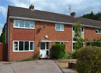 Thumbnail 3 bedroom end terrace house for sale in Bagridge Close, Castlecroft, Wolverhampton