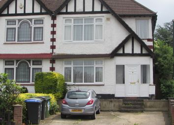 Thumbnail 5 bed semi-detached house to rent in Kings Way, Wembley