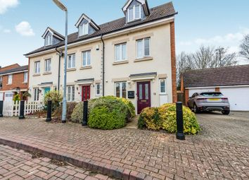 Thumbnail 3 bedroom end terrace house for sale in Wood End Close, Sharnbrook, Bedford