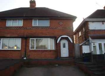 Thumbnail 3 bed semi-detached house to rent in Dyas Road, Great Barr, Birmingham