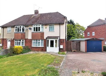 Thumbnail 4 bedroom semi-detached house for sale in Halls Road, Tilehurst, Reading