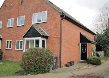 Thumbnail 2 bed end terrace house for sale in The Willows, Amwell Lane, Stanstead Abbotts