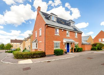 Thumbnail 5 bed detached house for sale in North Lodge Drive, Papworth Everard, Cambridge