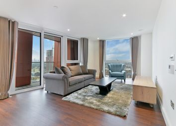 Thumbnail 2 bedroom flat to rent in Haydn Tower, Nine Elms Point, Vauxhall
