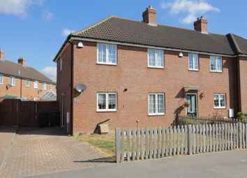 Thumbnail 3 bed end terrace house for sale in Fairview Road, Elvington, Dover