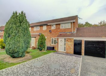 Thumbnail 3 bed end terrace house for sale in Barleycroft, Furzton, Milton Keynes