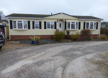Thumbnail 3 bed mobile/park home for sale in Beechwood Park, Warren Road, Dawlish Warren, South Devon