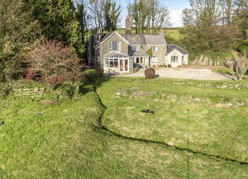 Thumbnail 5 bed detached house for sale in Milton Abbot, Tavistock