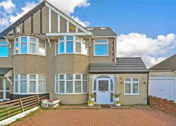Thumbnail 5 bedroom semi-detached house for sale in Belvedere Avenue, Ilford, Essex