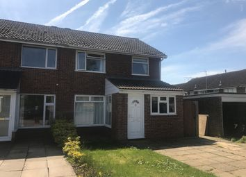 Thumbnail 3 bed semi-detached house for sale in Oathill Close, Brixworth, Northampton