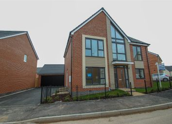 Thumbnail 4 bed detached house for sale in Ivinson Way, Bramshall, Uttoxeter